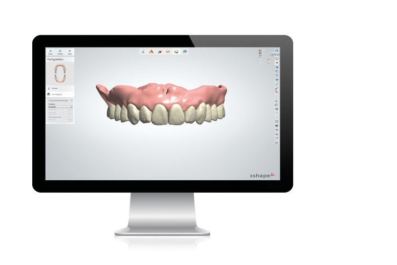 denture services technology digital image